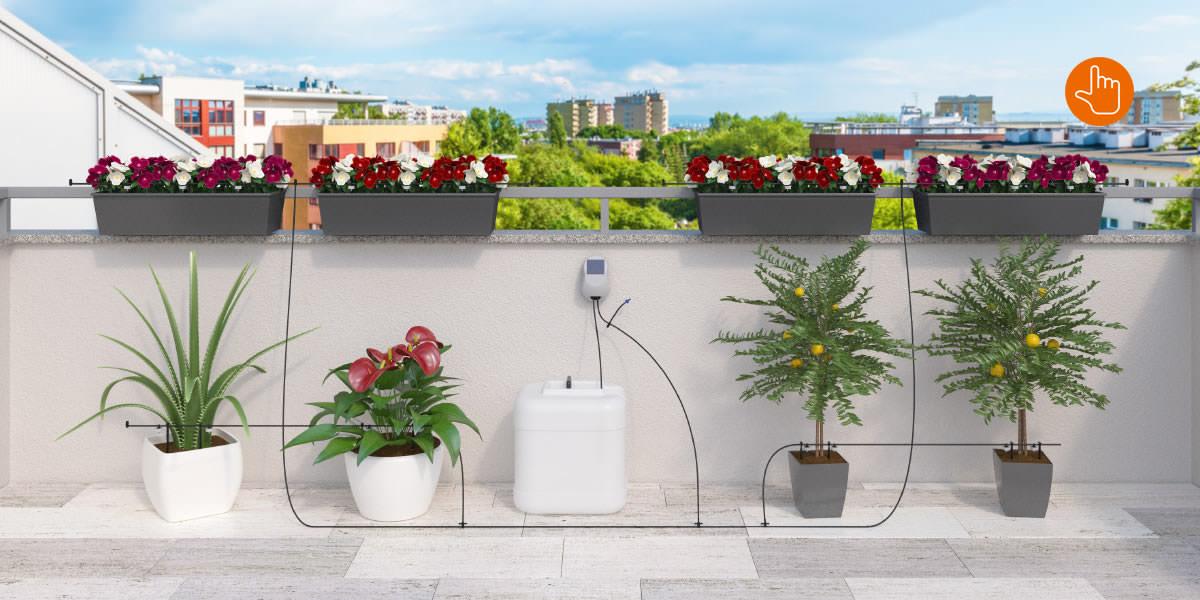 Aqua Magic System Per Irrigare A Goccia Senza Alimentazione